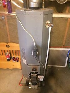 Brock Oil Fired Water Heater
