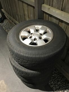 Hilux Wheels/ Rims and Tires Tyres