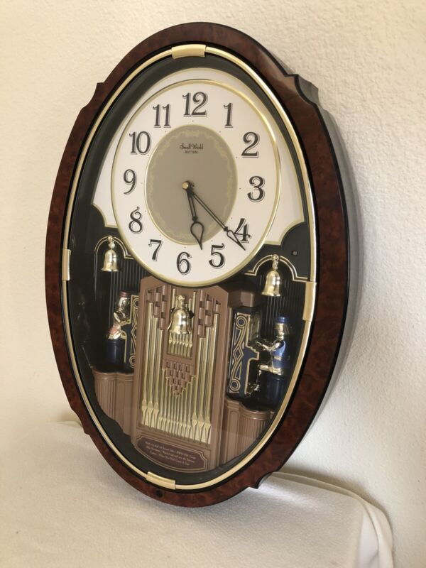 Small World Rhythm Clock 4MH 749 Dual Organist