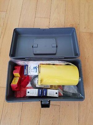 Brady Economy Lockout Toolbox Kit - 45618