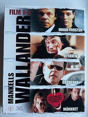 Wallander: Film 1-3 Innan frosten / Byfånen / Bröderna (DVD 2005) Swedish import