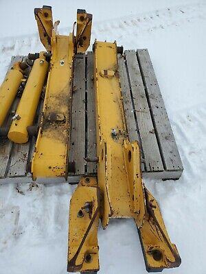 John Deere Loader Backhoe Extended Stabilizer With Street Pad