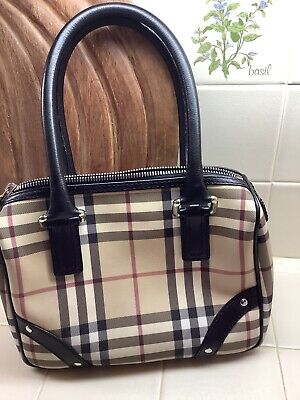 Burberry London. Nova Check Handbag.  Excellent Condition!!!!!