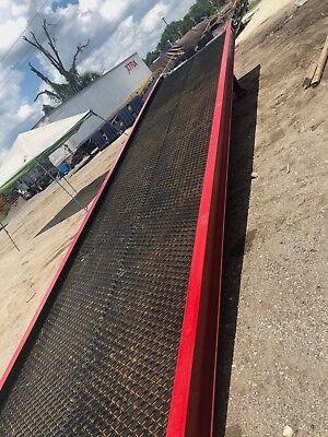 New Yard Ramp Yard Dock Trailer Loading Dock Forklift Ramp 83.1 Wide
