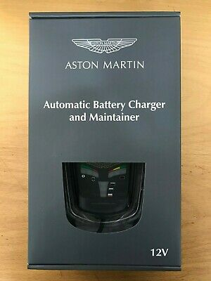 New Aston Martin Automatic Battery Charger & Maintainer