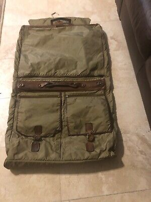 HARTMANN Luggage Nylon and Leather Trim Travel Garment Bag BEST (Best Garment Bag Suitcase)