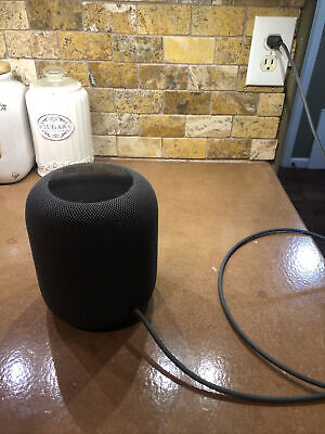 Apple HomePod MQHW2LL/A Space Gray Home Smart Speaker