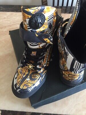 Versus Versace Trainers Sneakers Uk Size 11 Shoes