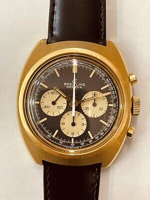 Breitling Vintage Gold Plated Chronograph (928)