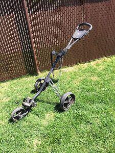 Golf bag stroller