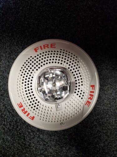 System Sensor SPSCW Fire Alarm Speaker/Strobe Ceiling White