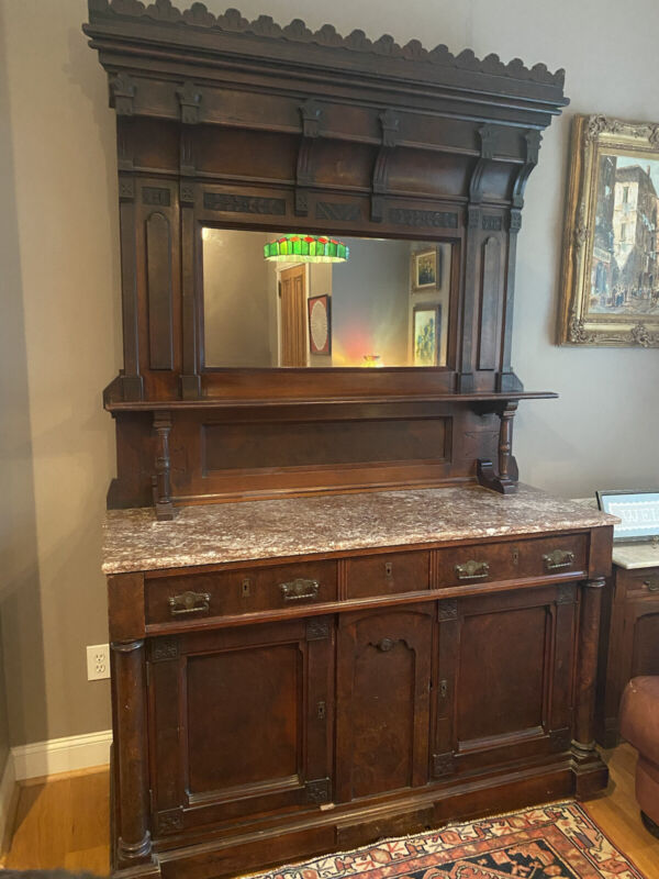 Eastlake Buffet With Mirror