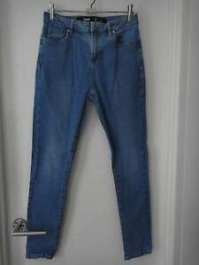 SIZE 14 HIGH WAISTED JEANS FROM FACTORIE - AS NEW Collingwood Park Ipswich City Preview