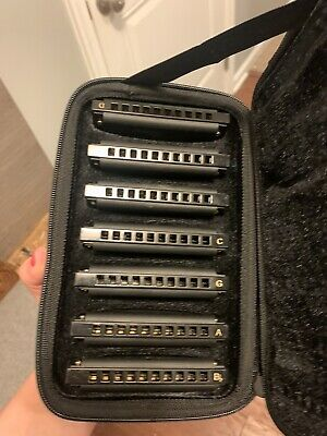 Hohner PBH7 7Pc Piedmont Blues Set