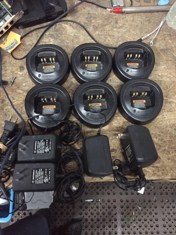 Lot of 6 Genuine Motorola HTN9000C  Rapid Mobile Radio Chargers