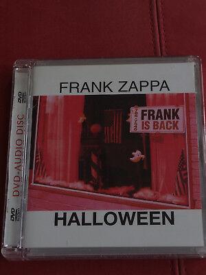 DVD Audio Frank Zappa - Halloween Live NYC 1978 DTS 96/24 VAULTer Native 2003