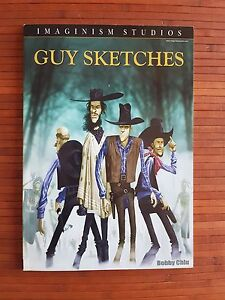 Guy sketches by Bobby Chiu. ILLUSTRATION BOOK Imaginism Studios - España - Guy sketches by Bobby Chiu. ILLUSTRATION BOOK Imaginism Studios - España