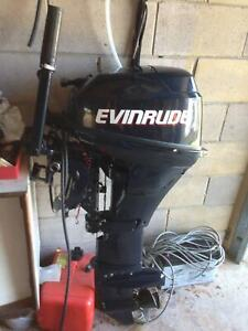 15 Hp four stroke evinrude outboard
