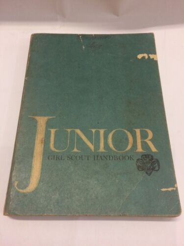Junior Girl Scout Handbook, FIRST EDITION, 1963 - Free Shipping