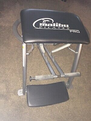 MALIBU Pilates PRO CHAIR Exercise Fitness Yoga Workout Abs Bench Gym reformer, used for sale  Shipping to Nigeria