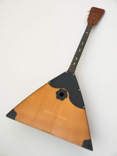 Vintage original Balalaika Second Made in USSR, for Parts, January 14, 1984