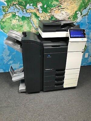 Konica Minolta Bizhub C308 Color Copierprintscan Total Meter 46k