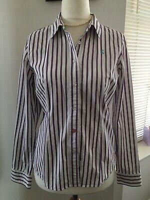 joules Ladies Blouse Size 12 . Cotton Long Sleeve , MR8275