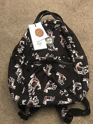 Genuine Santa Cruz Herschel Screaming Hand Classic Skateboard Backpack Small