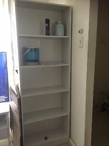 White bookcase St Clair Penrith Area Preview