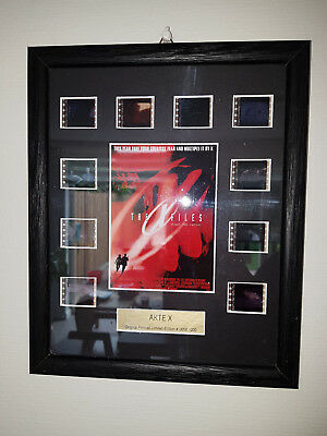 Extremely Rare! The X Files Movie Fight The Future LE of 1000 Filmcell Framed