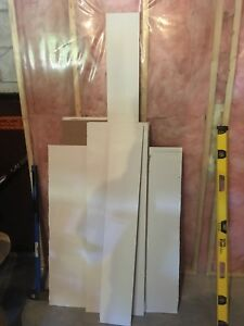 Drywall leftovers