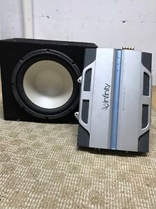Amp and Subwoofer
