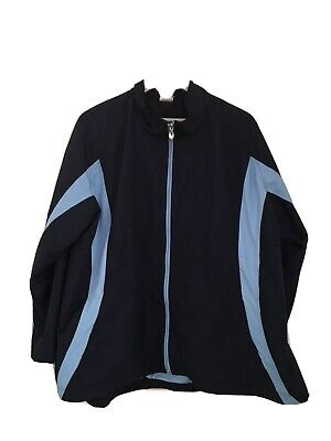 Ladies Full Zip Active Jacket JUST MY SIZE (JMS) Size 42-44/ 22W-24W