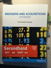 FINC6017 Mergers and acquisitions USYD business school Camperdown Inner Sydney Preview