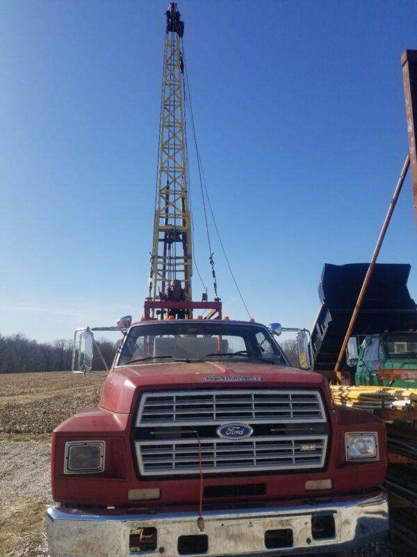 Cyclone Cable Tool Drill Rig