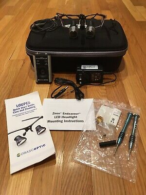 Orascoptic Dental Loupes With 3.8x Magnification And Endeavor Headlight