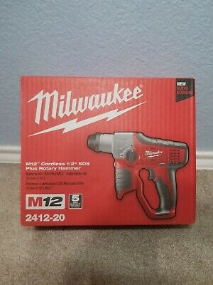 Milwaukee M12 2412-20 Lithium-ion Cordless 12 In. Sds-plus Rotary Hammer N