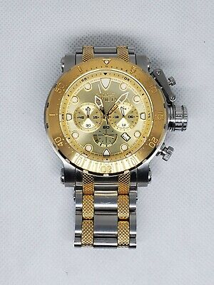 Invicta Coalition Forces 26499 Mens Gold-Tone Stainless Chronograph Watch 52mm