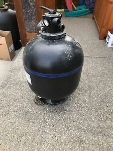 Pool sand filter