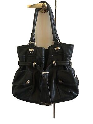 B. Makowsky Large Leather Handbag. **Excellent Condition**