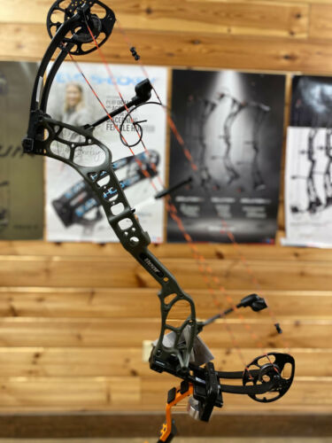 NEW Bear Archery THREAT Compound Bow OLIVE GREEN 60lbs LH LEFT HAND
