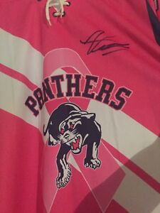 Breast Cancer 3xl Port Hope Panthers Jersey AUTOGRAPHED
