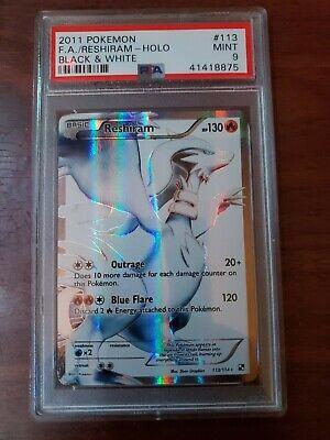 Reshiram #113/114 Full Art [PSA MINT 9] 2011 Pokemon Black & White