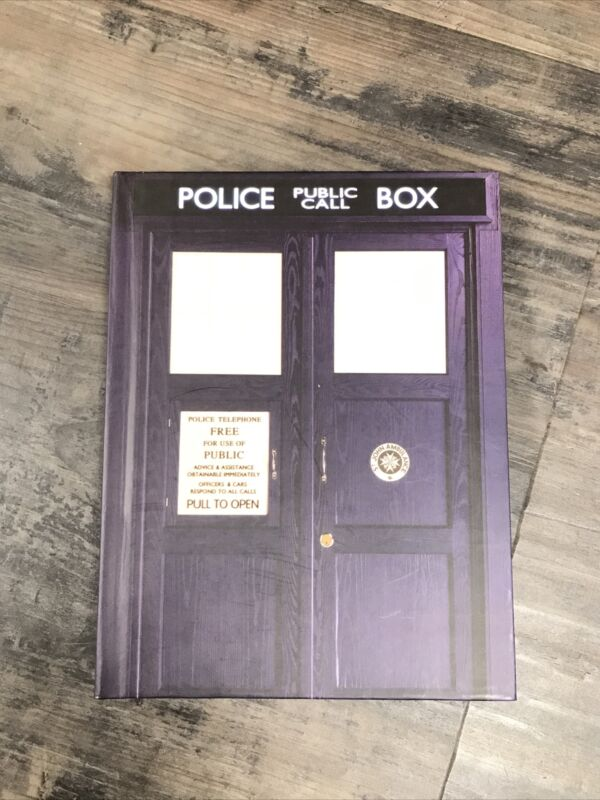 Doctor Who Tardis Phone Booth Journal Moleskin Bigger On The Inside Bad Wolf