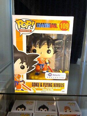 Goku & Flying Nimbus #109 Galactic Toys exclusive Dragon Ball Funko Pop Vinyl