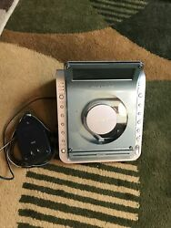 SONY Dream Machine ICF-CD855V Clock Radio Alarm CD Player Working
