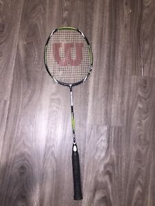 Great barely used badminton racquet.