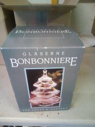 Bonboniere glas mit deckel