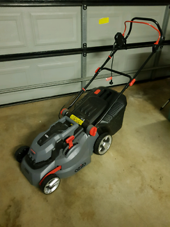 Ozito electric lawn mower