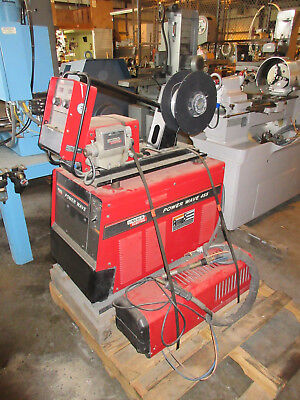 Lincoln Power Wave Mig Tig Stick Welder Model 455